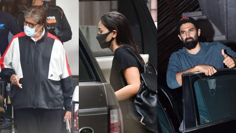 Paparazzi Files: Amitabh Bachchan, Alia Bhatt, Aditya Roy Kapur and others papped in Mumbai