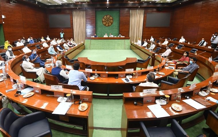 In pics: All-party meeting held at Parliament; PM Modi, Rajnath Singh, more than 40 leaders from 33 parties attend