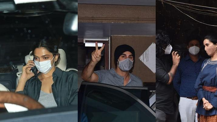 Mumbai: Deepika Padukone, Ranbir Kapoor, Shraddha Kapoor and other Bollywood celebs spotted in the city; see pics