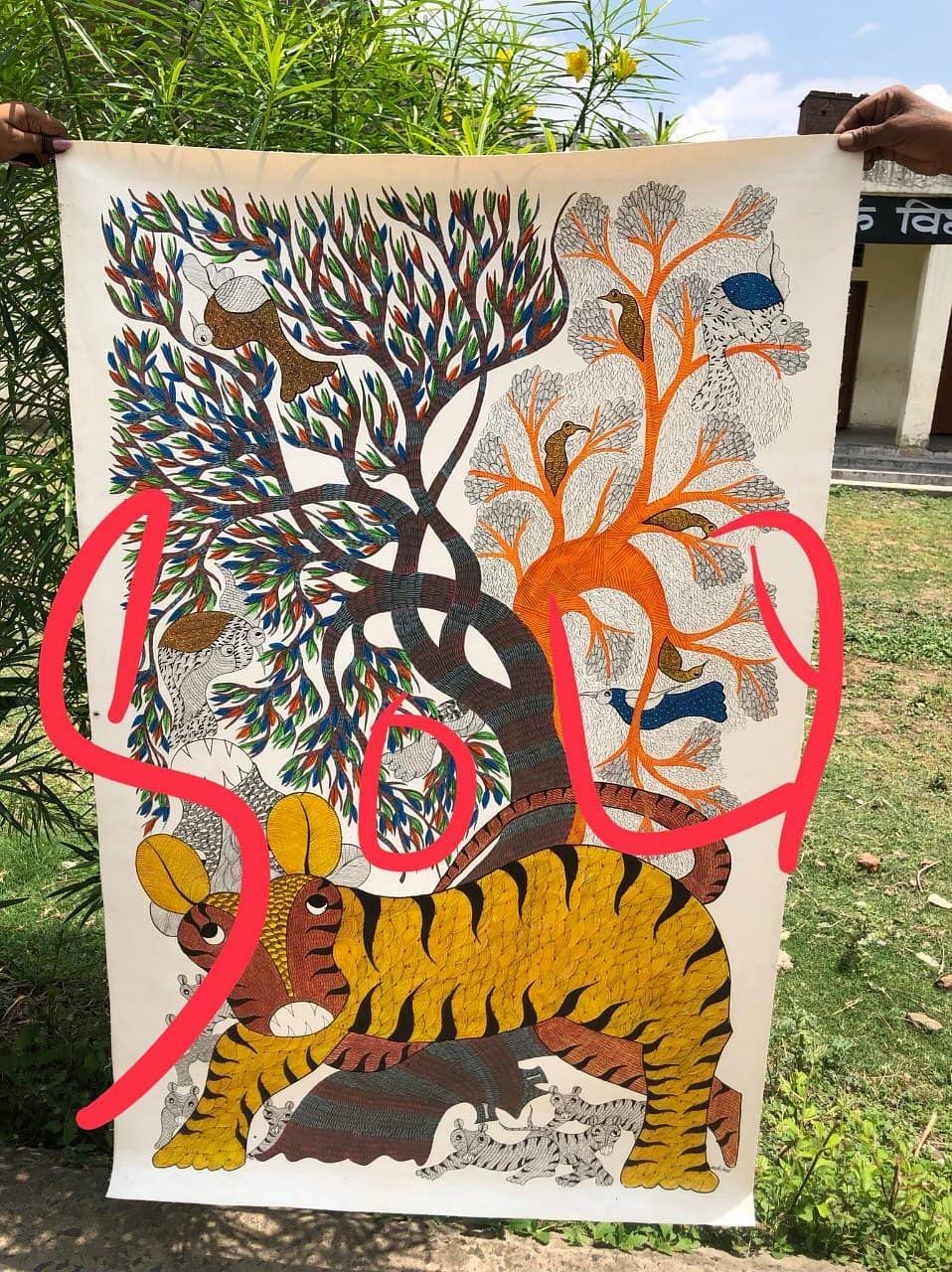 Balmati's artwork