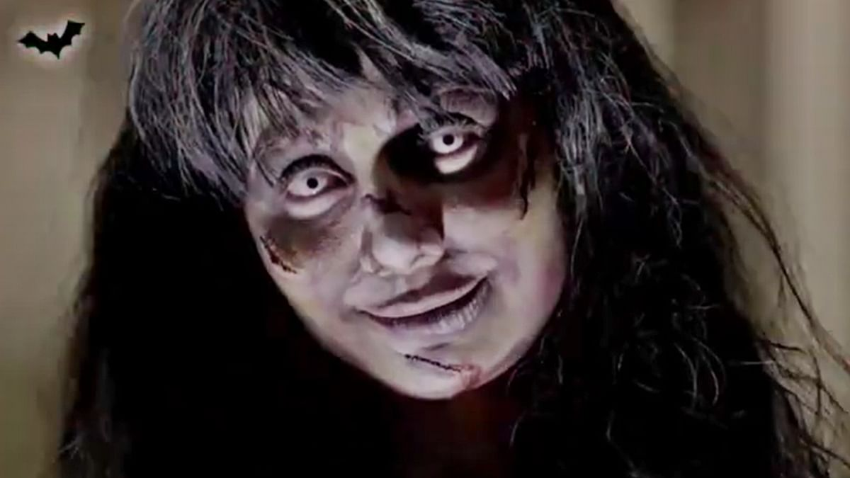 Watch: Shilpa Shetty looks unrecognizable as she transforms into a super scary ghost in latest video