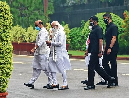 'Congress in coma': PM asks BJP to counter Opposition's Covid charges