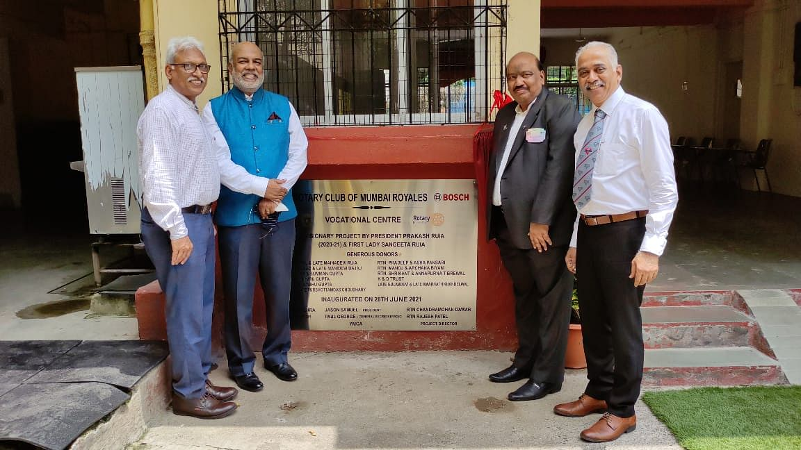 BRIDGE Training, a joint programme of Rotary Club of Mumbai Royales and Bombay YMCA inaugurated at Andheri YMCA