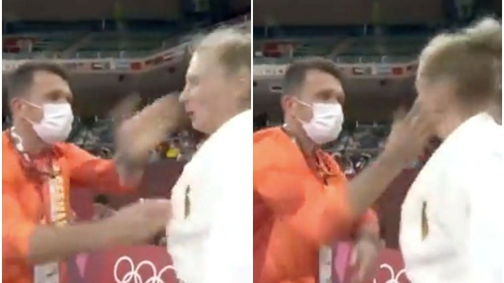 Watch video   German Judo coach's face-slap motivation on Martyna Trajdos lands him an official warning