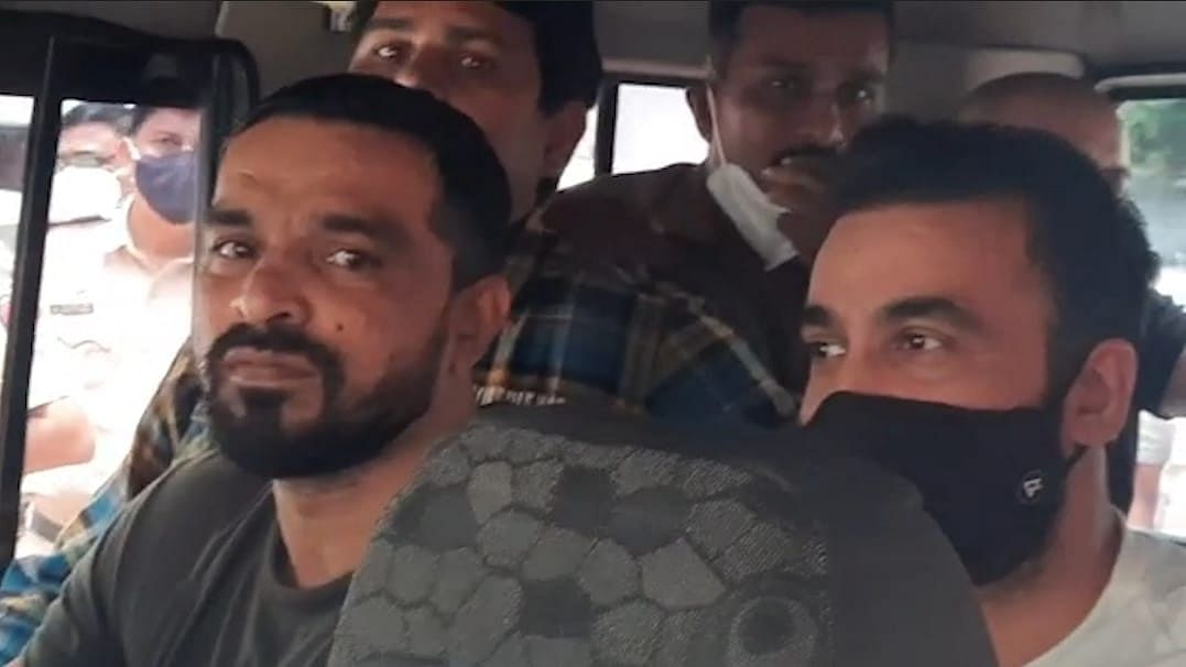 Watch: Shilpa Shetty's husband Raj Kundra brought to Mumbai's Esplanade Court after being arrested in porn racket
