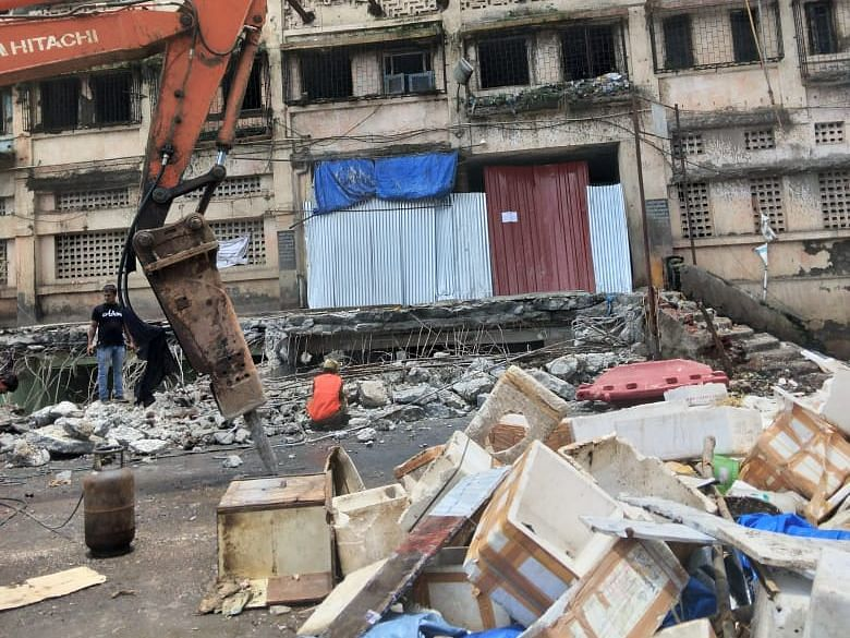 Mumbai: Vendors allege loss of business as the iconic fish market near Crawford Market is demolished