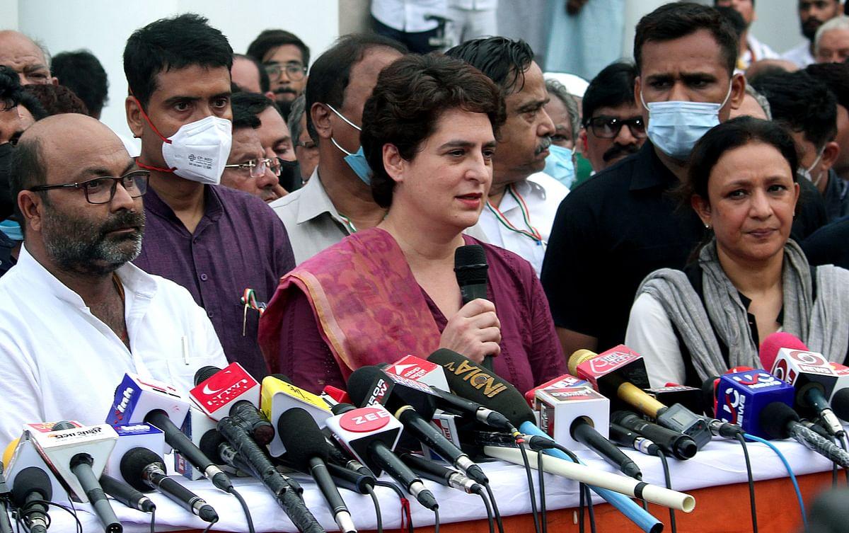 Priyanka Gandhi will be Congress' CM face for Uttar Pradesh Assembly polls: Rajesh Tiwari
