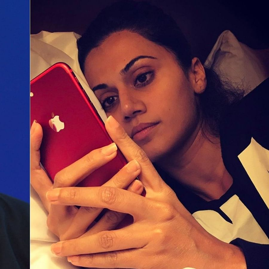 Watch: Taapsee Pannu reveals she once slid into 'Iron Man' Robert Downey Jr's DM - here's what happened next