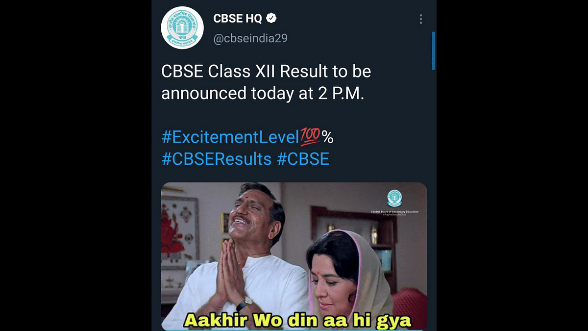 'Aakhir woh din aa hi gaya...': Ahead of Class 12 results, CBSE and students indulge in meme banter to ease nerves