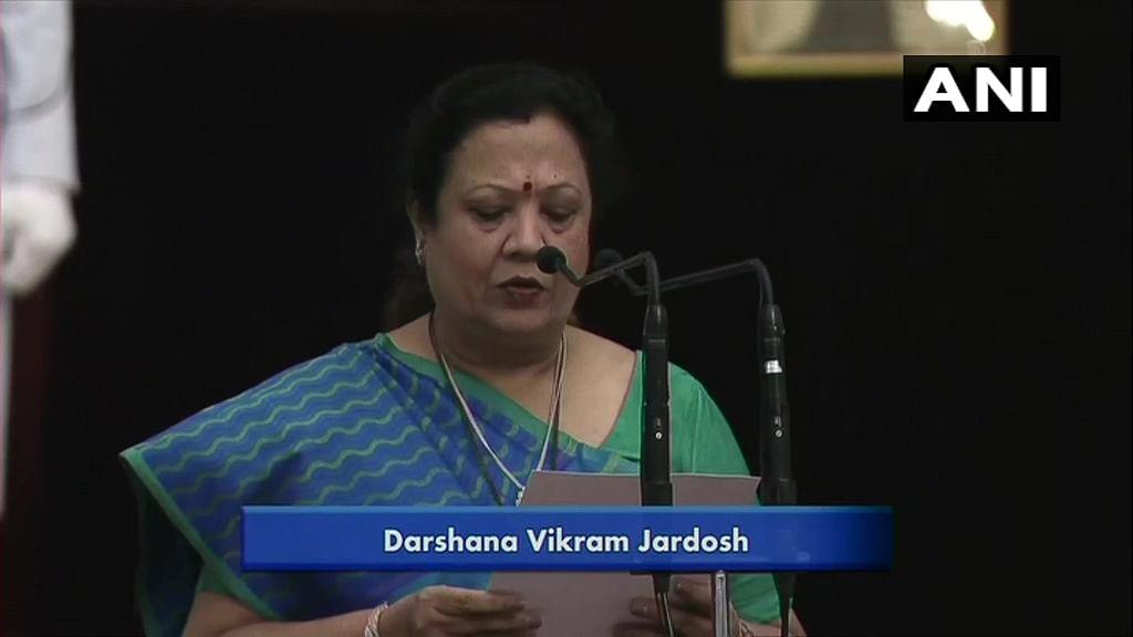 Bharatiya Janata Party's Darshana Vikram Jardosh was inducted in PM Modi-led Union Cabinet as a part of major Cabinet reshuffle on Wednesday evening.