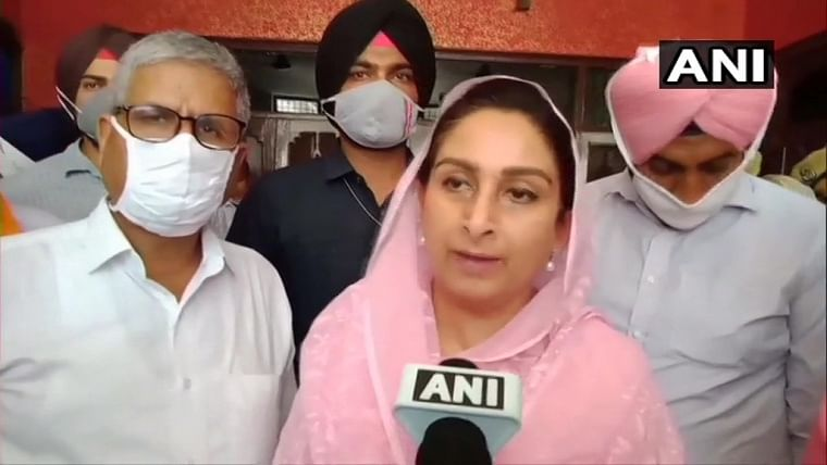 Congress and corruption are two sides of same coin: SAD's Harsimrat Kaur Badal on Punjab power crisis