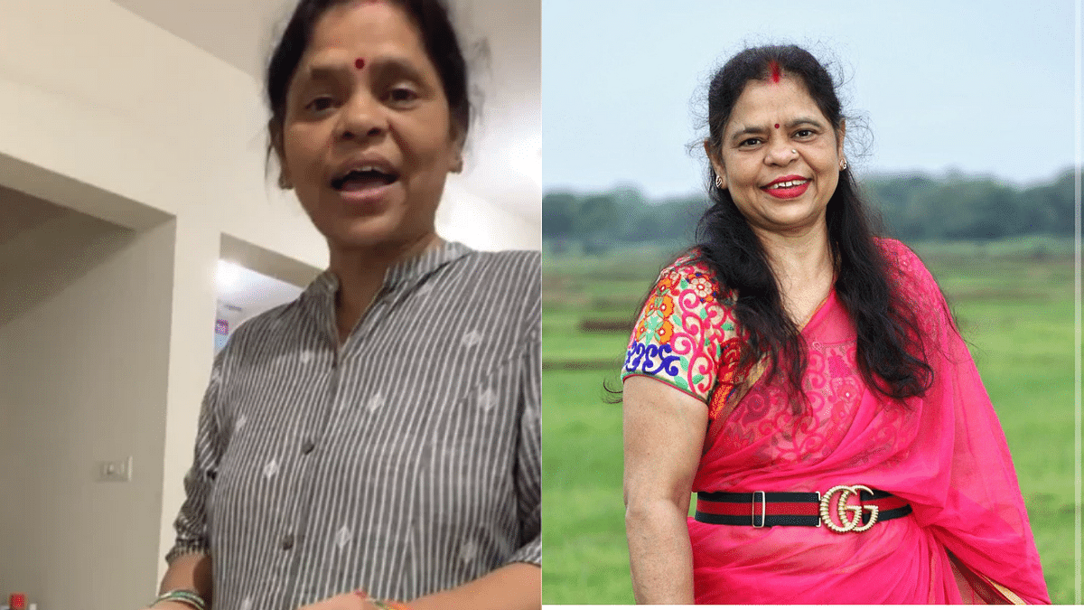Desi mom flaunts expensive Gucci belt she scolded daughter for in viral video; netizens chuckle