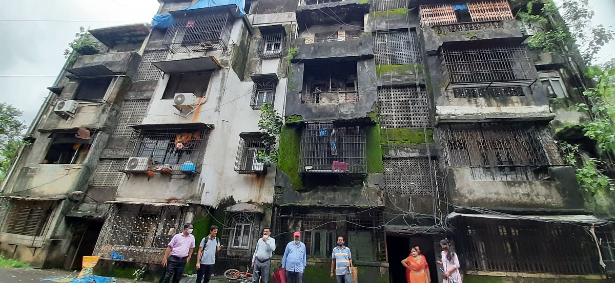 Buildings on the Brink: Residents refuse to vacate two dilapidated Mulund buildings over fear of homelessness after BMC dubs structures as 'highly dangerous'