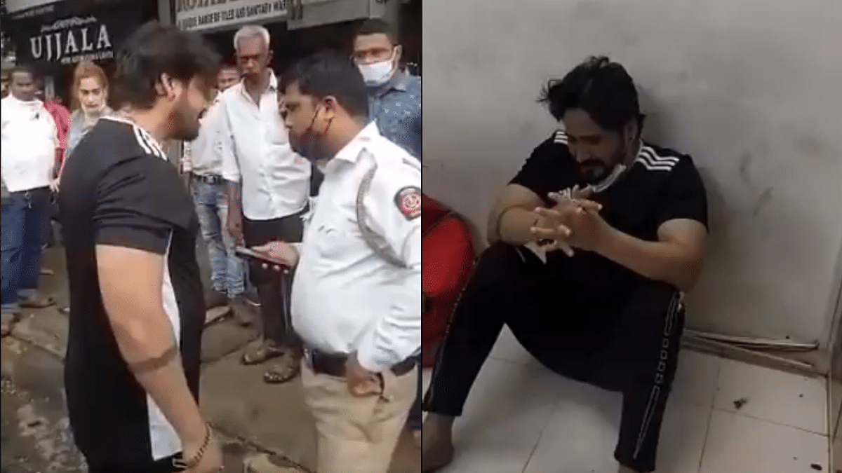 WATCH: Couple who abused cop over parking issues apologise after FIR registered; Twitterati say, 'herogiri nikal gayi'