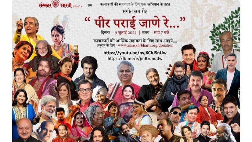 Bhopal: 13,000+ Twitterati's join hands to support art and artists in distress via campaign 'Peer Parai Jaane Re'