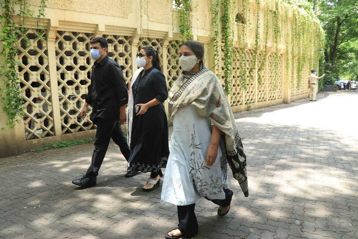 Vidya, Sidharth and Shabana Azmi
