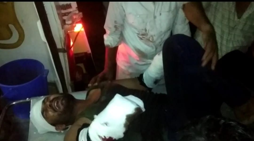 The victim is undergoing treatment at a private hospital in critical condition