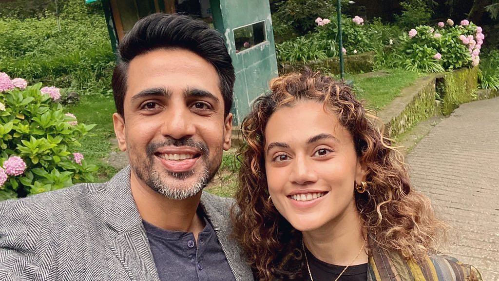 Taapsee Pannu, Gulshan Devaiah begin shooting for 'Blurr'; share photos from the sets