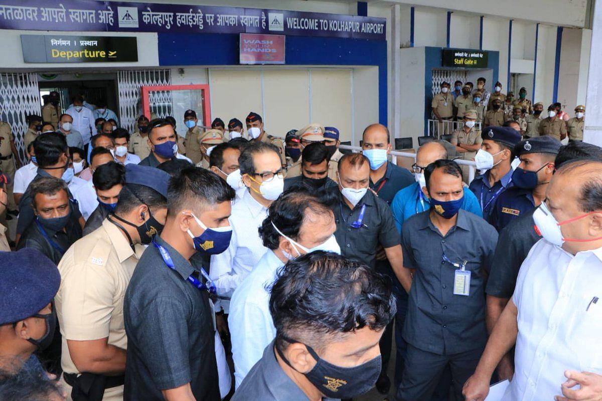 Mumbai: Latest updates - CM Uddhav Thackeray reaches Kolhapur to visit flood-hit areas