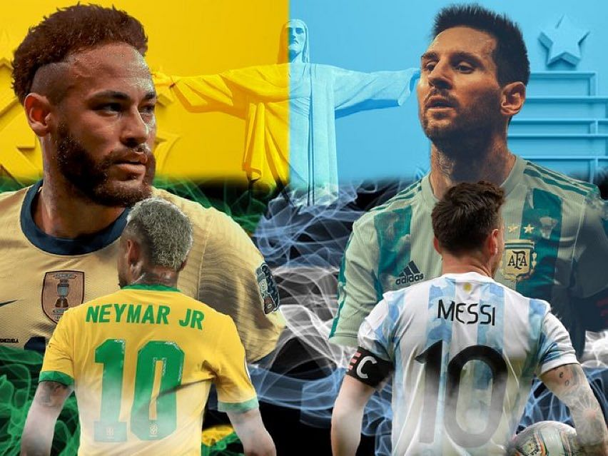 Brazil and Argentina will face off for the fifth time in a tournament final