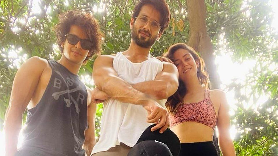 Shahid Kapoor's wife Mira tells 'forever third wheel' Ishaan Khatter to 'get off her bed'; see post