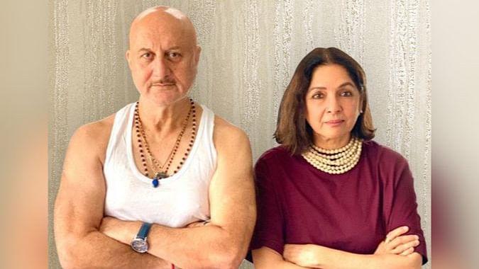 Anupam Kher, Neena Gupta share first look of new film 'Shiv Shastri Balboa'