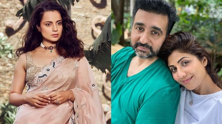 'This is why I call movie industry a gutter': Kangana Ranaut reacts to arrest of Shilpa Shetty's husband Raj Kundra