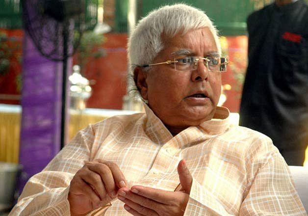 Bihar: Lalu Prasad Yadav in tears while recalling prison days; praises son Tejashwi on RJD's silver jubilee