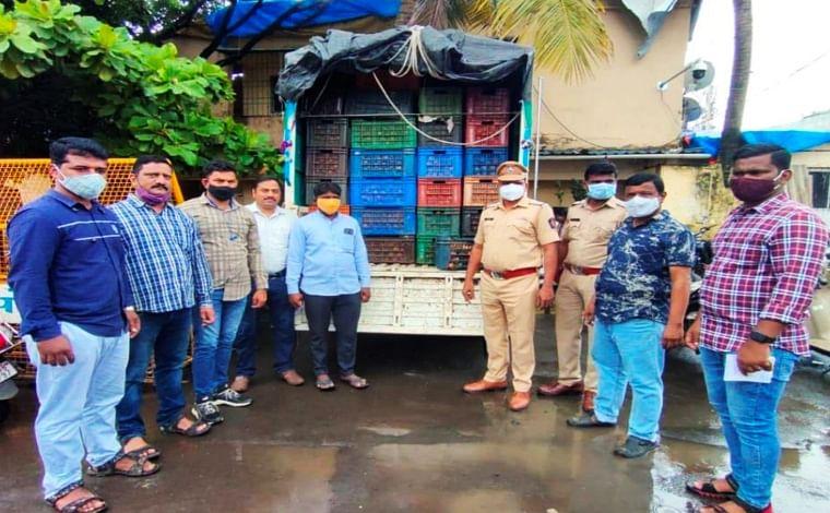 Nallasopara: Cops nab man who duped farmer of 112 boxes of pomegranates