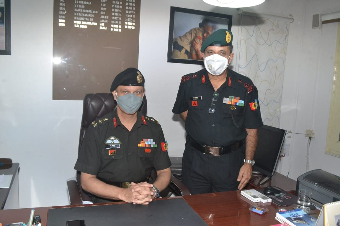 Indore: Brigadier Akashdeep Bhanot takes charge as group commander of NCC group headquarters