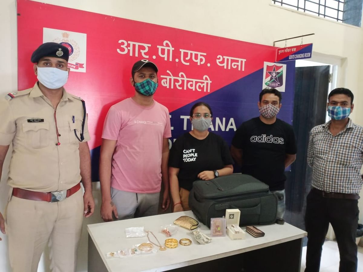 WR's RPF helps passenger locate bag containing jewellery & cash worth Rs 4 lakh