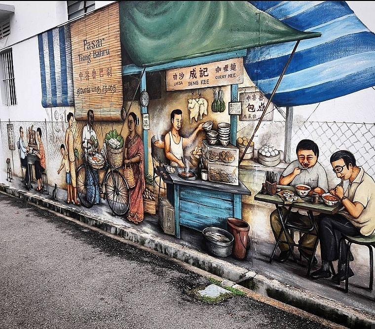 Yip Yew Chong's artwork in Singapore