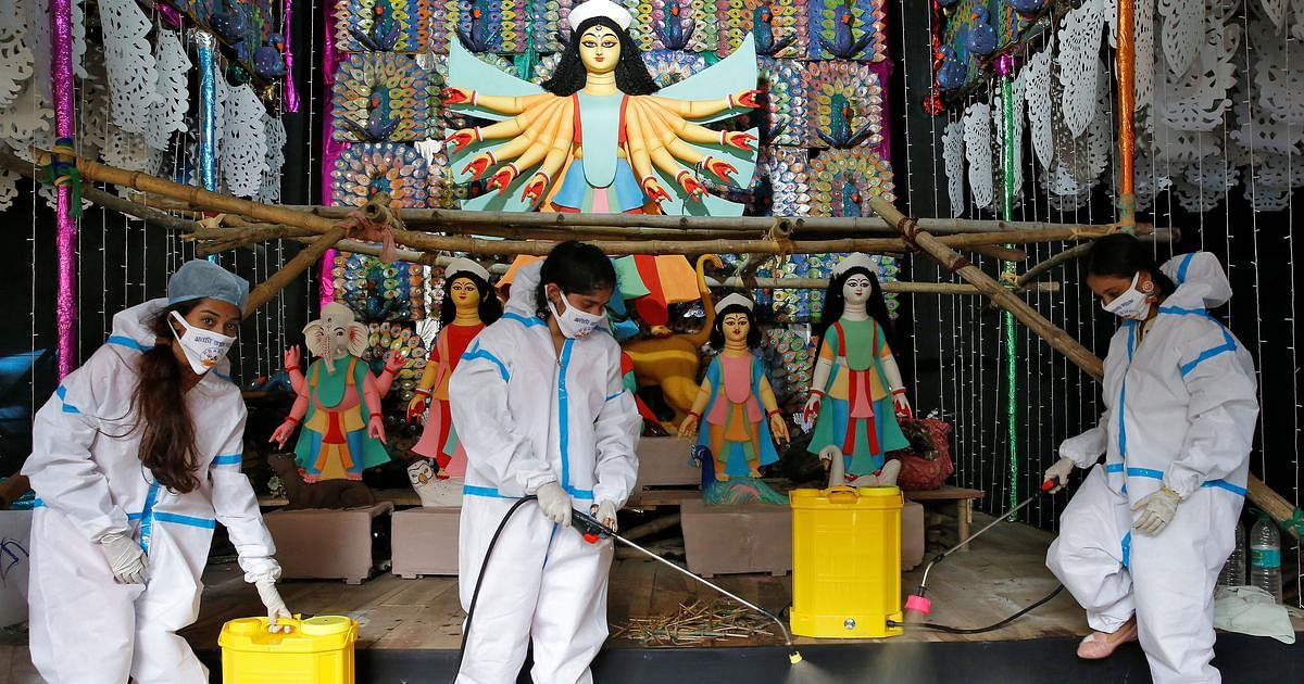 West Bengal: No mask, no entry in pandals during Durga Puja, says Forum for Durgotsav
