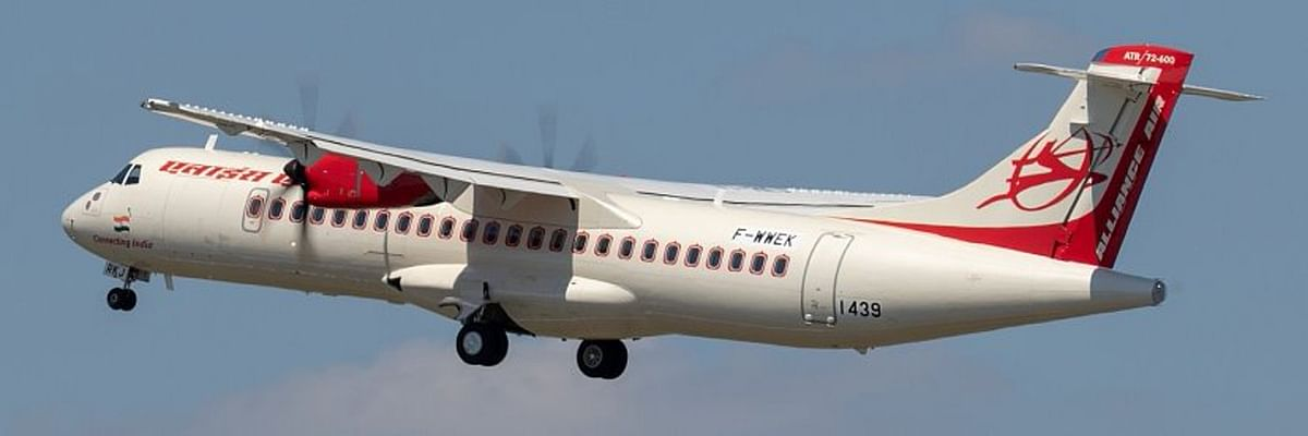 Alliance Air to operate Kolkata-Bhubaneswar flights via Ranchi
