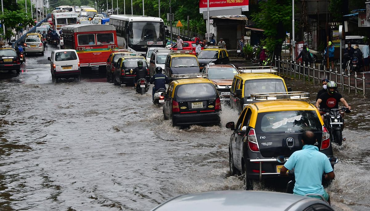 Mumbai: Rains pick up again in city and suburbs; local train services affected