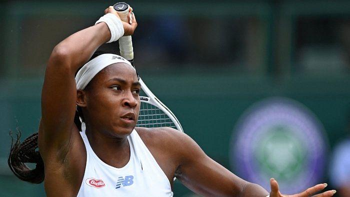 American tennis player Coco Gauff