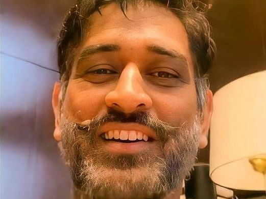 'Dhoni in Dhawan's look?': Thala Dhoni's new look in a handlebar mustache breaks the internet