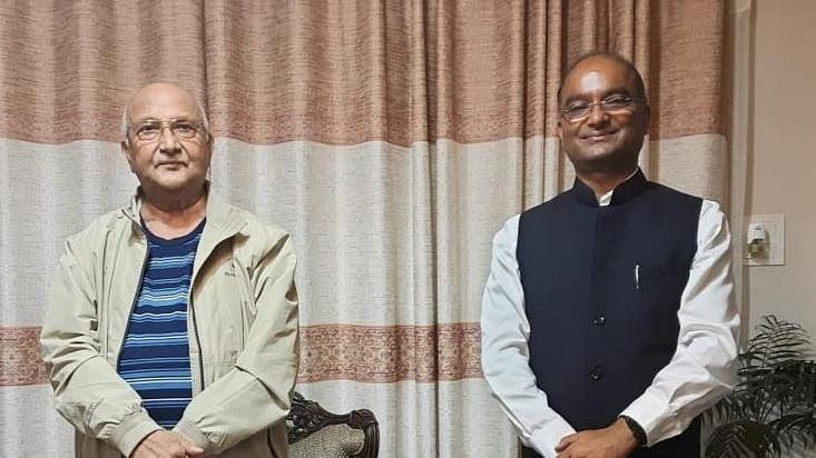 CMD SJVN calls on PM Nepal for more Hydro Projects