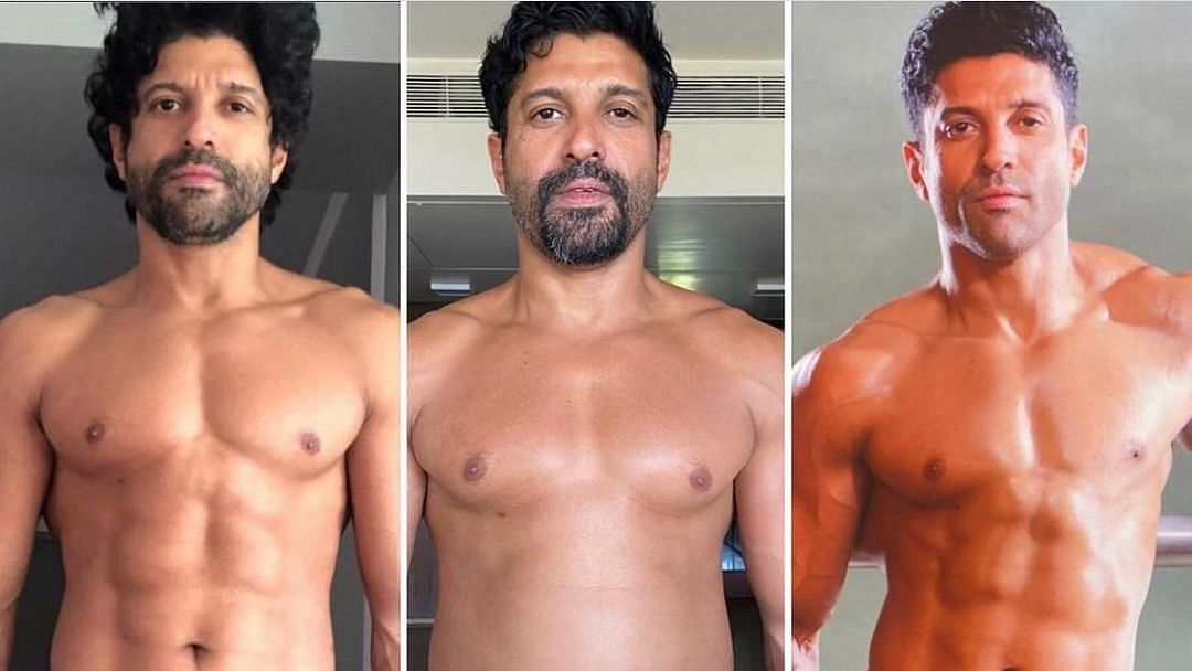 Farhan Akhtar gives a glimpse of his impressive transformation in 'Toofaan'; Hrithik Roshan says 'that's insane'