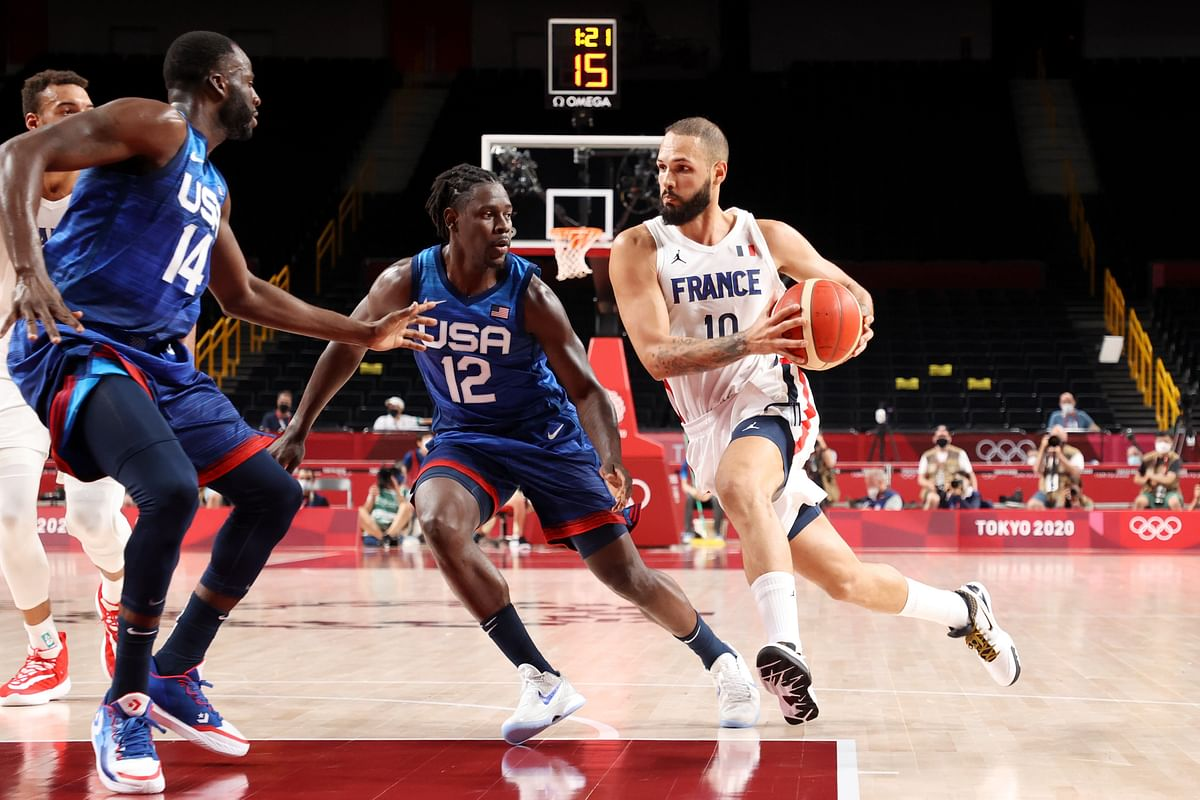 Basketball at Tokyo Olympics: Evan Fournier leads France for an upset win over USA in men's opener