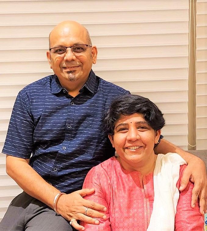 Dr Deepika Singhal and Dr Deepak Saxena