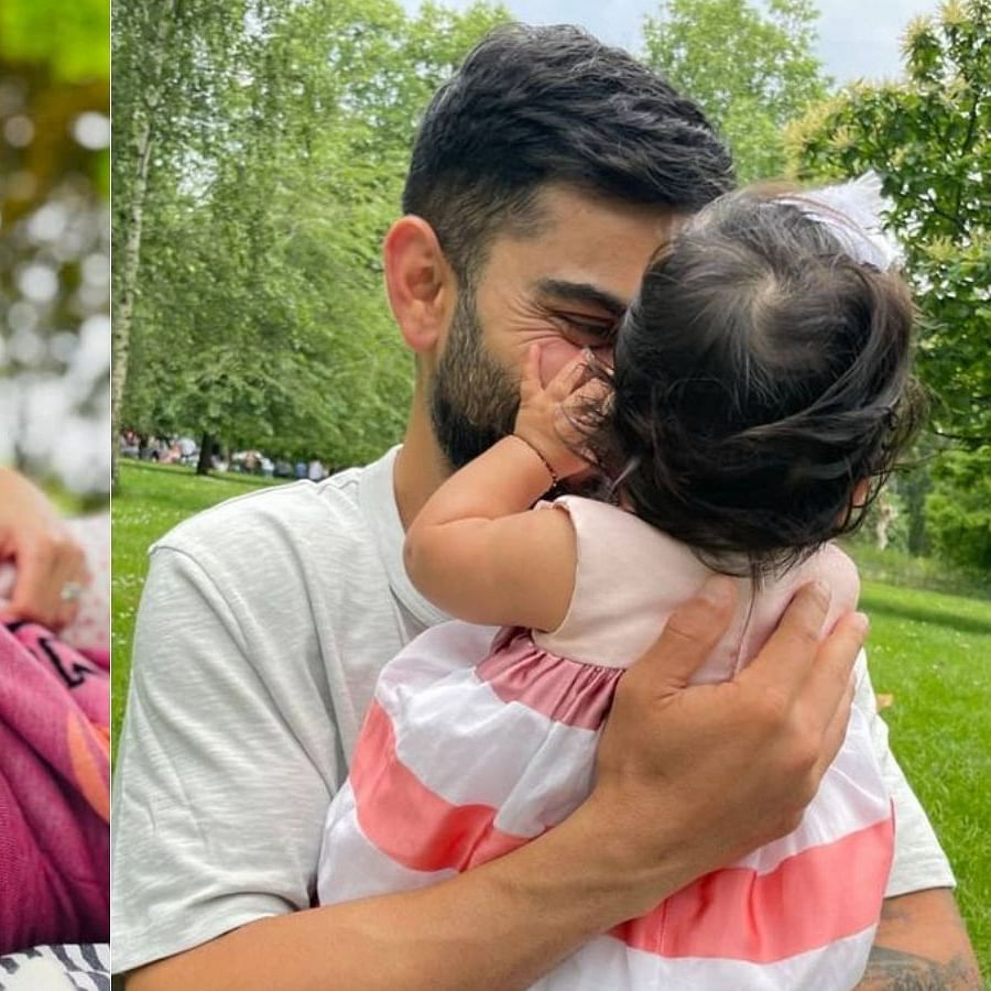 Anushka Sharma, Virat Kohli celebrate at a park as daughter Vamika turns 6 months old; see adorable pics