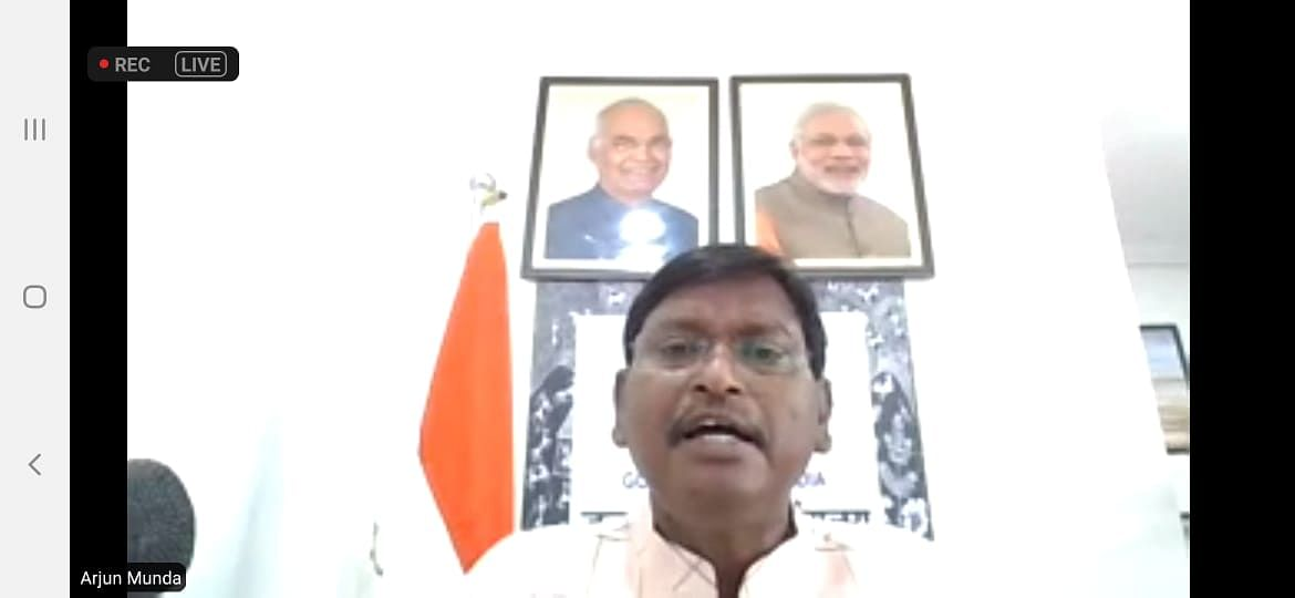 Bhopal: Corona pandemic has given the government an opportunity to win the heart of tribals, says minister Arjun Munda