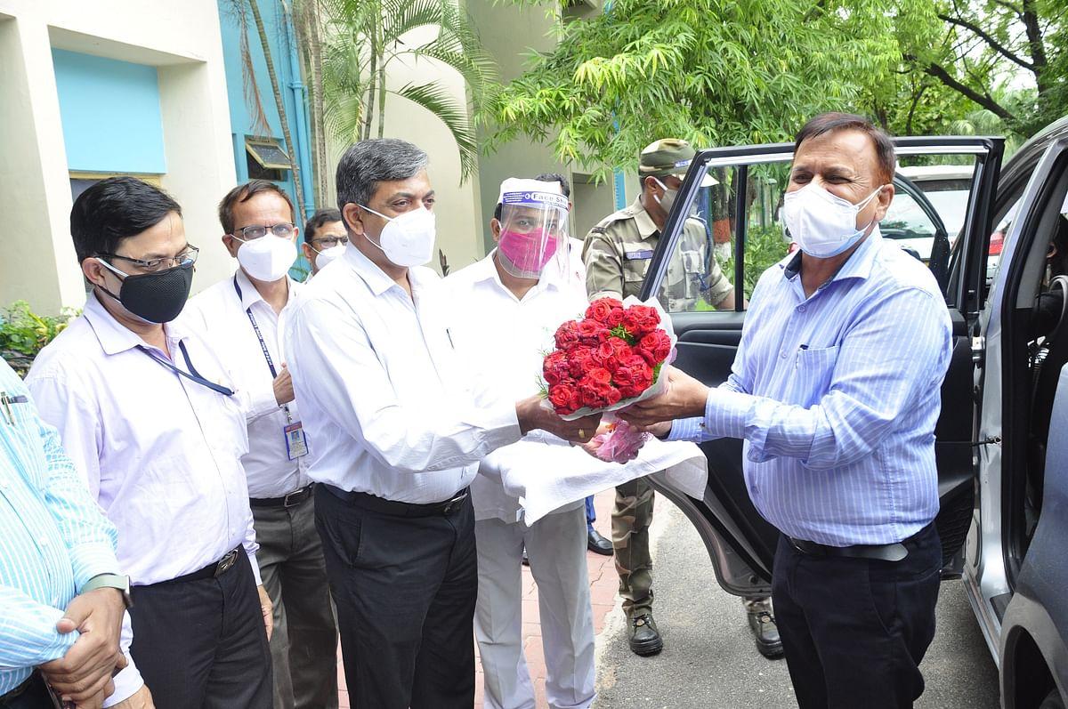 NTPC Regional Executive Director visits Ramagundam