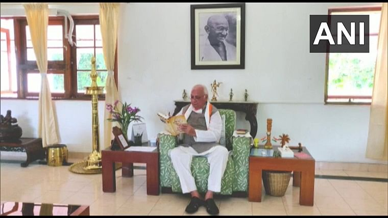 In a first, Kerala Governor Arif Mohammad begins fast against dowry
