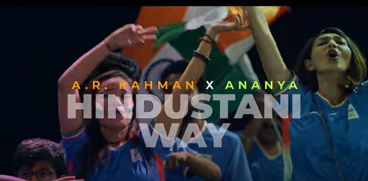 AR Rahman and Ananya's official cheer song
