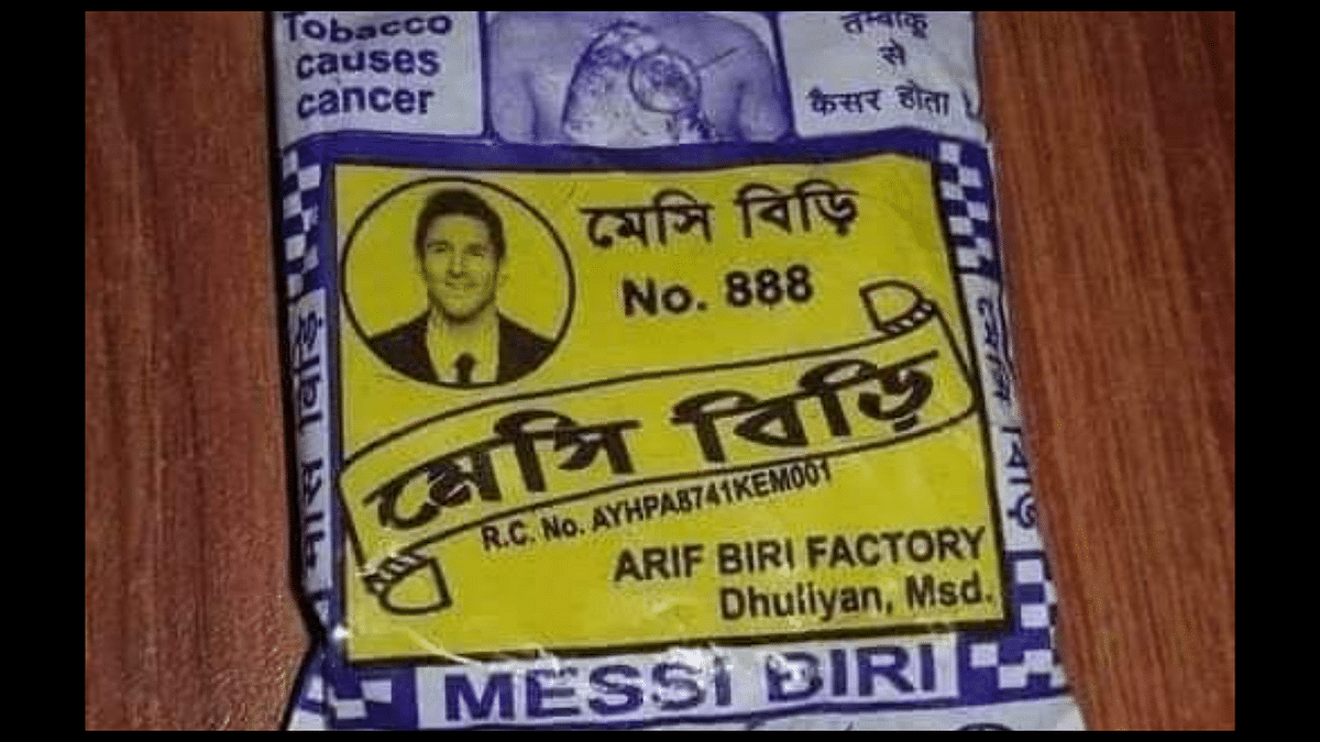 'This can happen only in India': Beedi packet with Messi's picture goes viral; Twitterati can't stop laughing