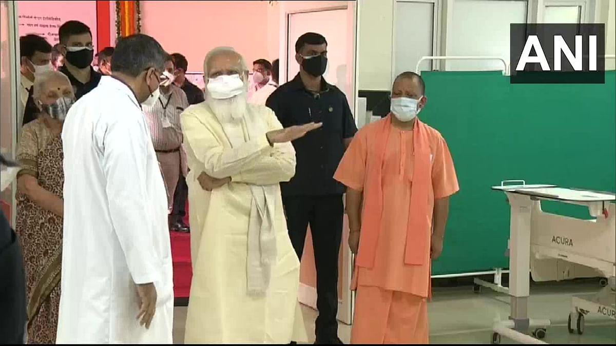 'Yogi ji is working hard': PM Modi lauds UP's 'unparalleled' handling of COVID-19 pandemic, crackdown on 'mafia raj'