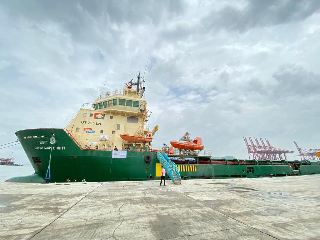 Navi Mumbai: JNPT starts trial operation at its newly built coastal berth