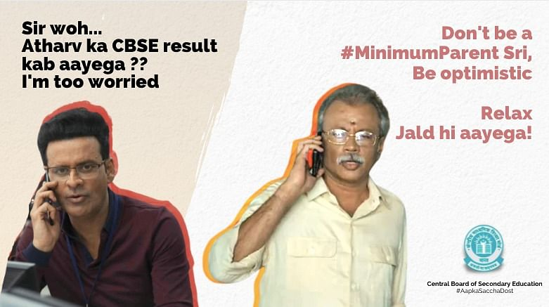 Don't be a Minimum G̶u̶y̶  Parent': CBSE assures parents with 'Family Man' meme on board exam results; says 'result jald hi aayega'